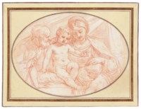 The Holy Family with the Infant Baptist