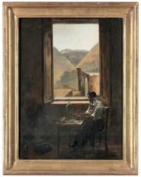 A craftsman at his table