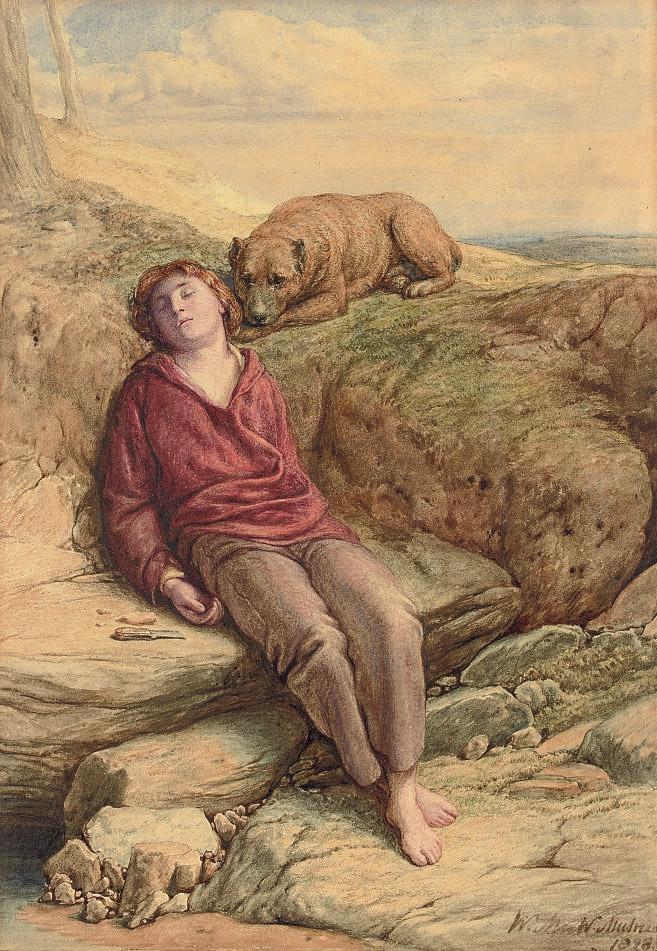 The Sleeping Shepherd