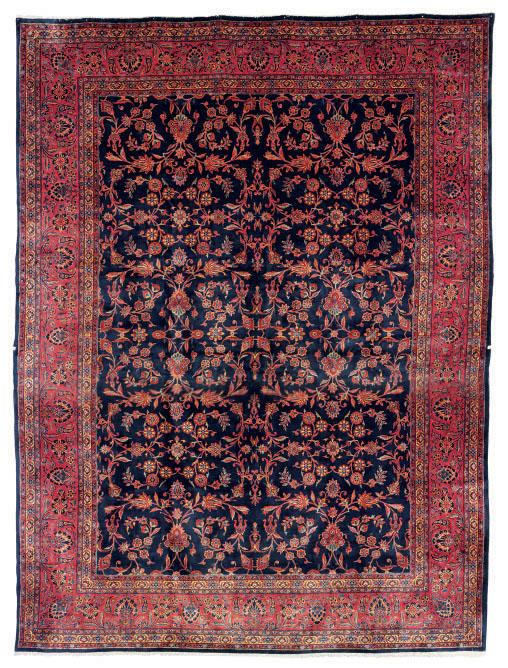 A Manchester Kashan Carpet Central