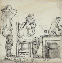 The Morning Toilette (illustrated); Study of Judge Cator; and Conversation after supper