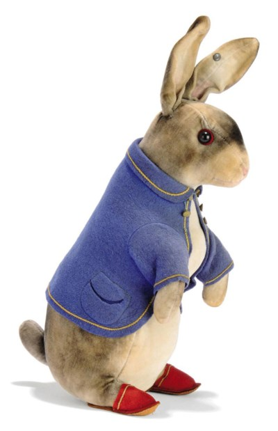 A STEIFF LARGE PETER RABBIT (4