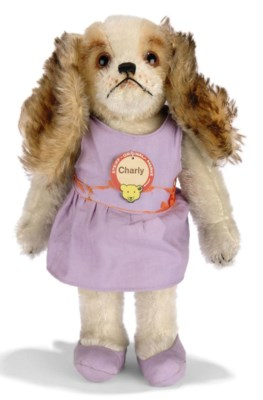 A STEIFF ARCHIVE CHARLY DOLL,