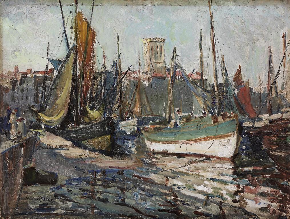 High tide, La Rochelle