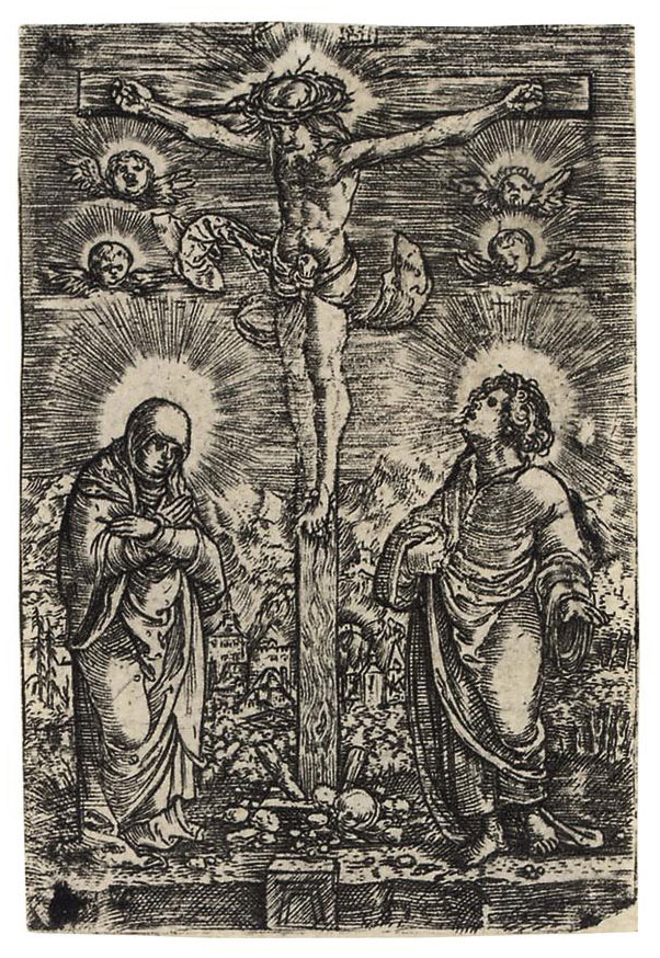 Christ on the Cross (Bartsch 7; Winzinger 120)