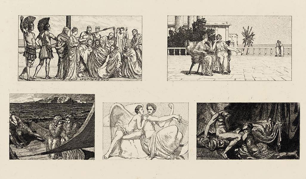 Amor und Psyche, Opus Va & Vb (Singer 64-109)