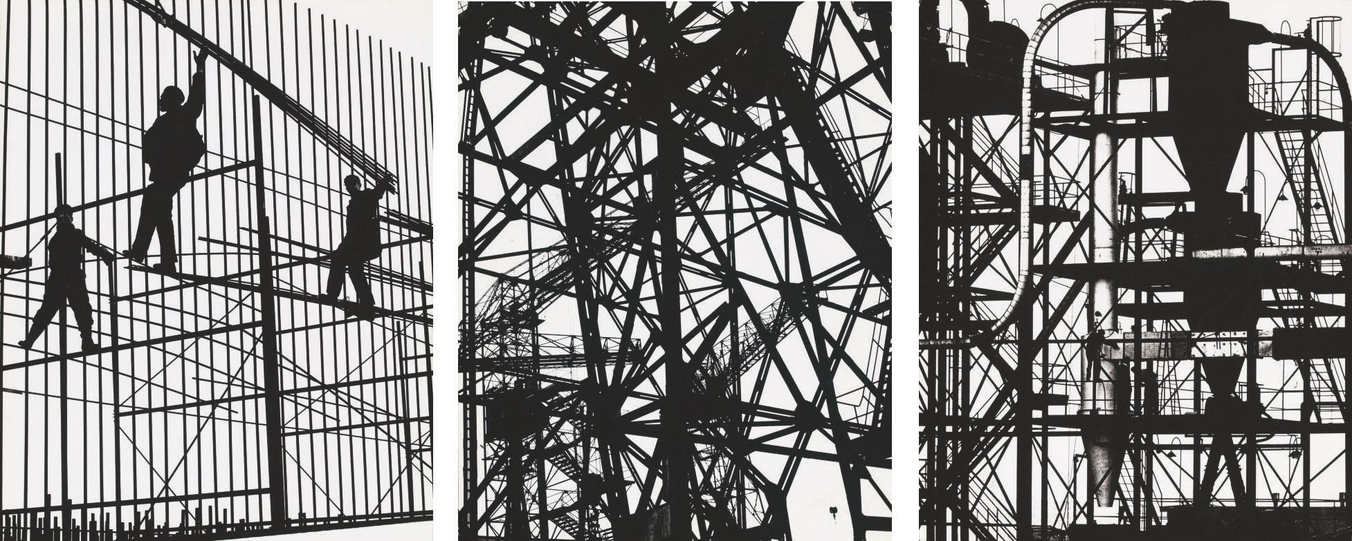 Urban landscapes 1-3, c. 1960