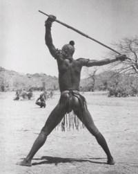 African Male Study, Kordofan, Sudan, 1949