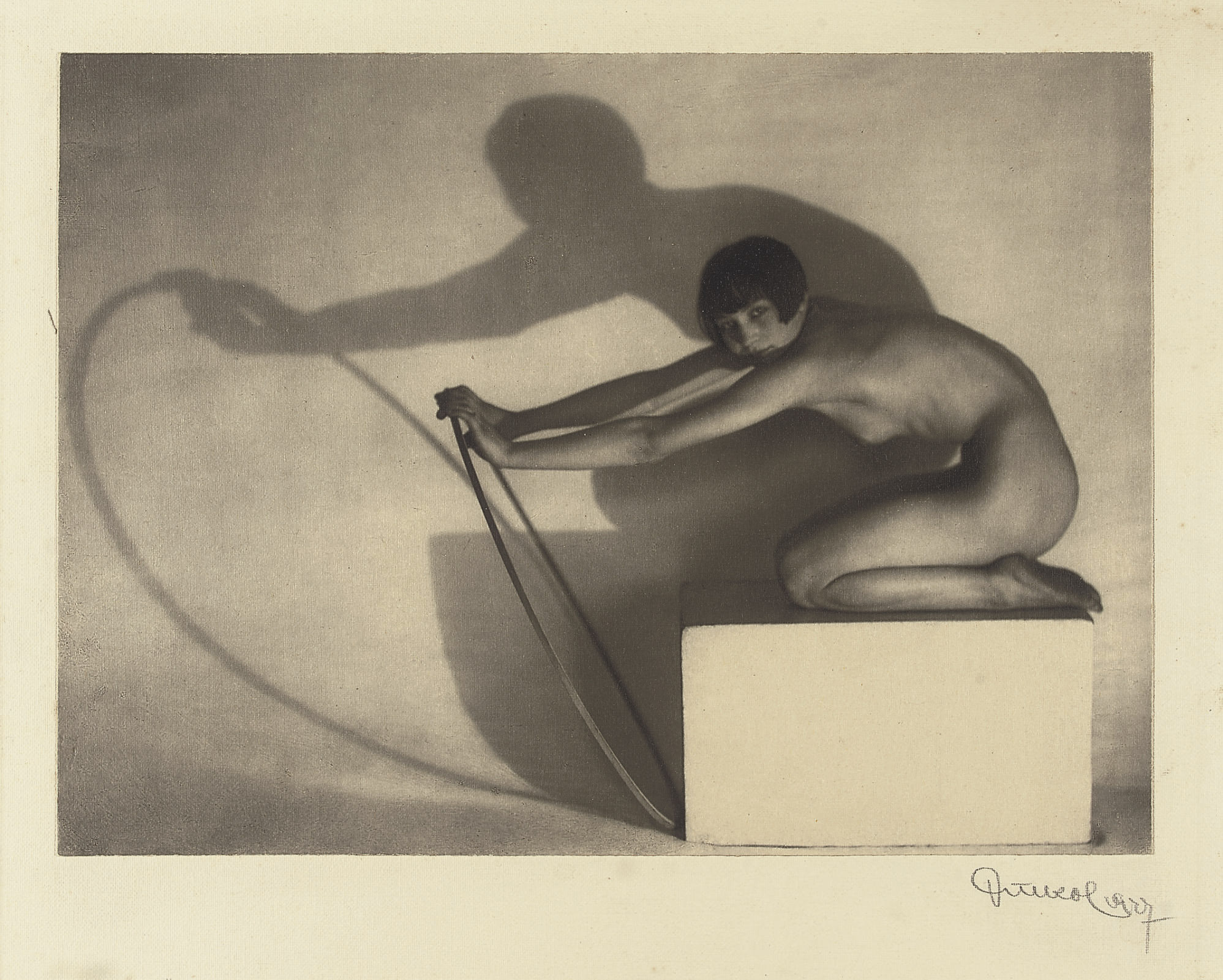 Nude with Hoop, 1927