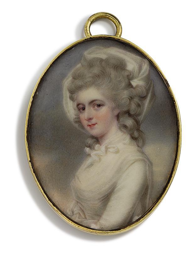 HENRY PIERCE BONE (BRITISH, 1779-1855), AFTER JOHN DOWNMAN, A.R.A.
