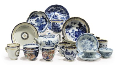 A GROUP OF VARIOUS CHINESE TEA