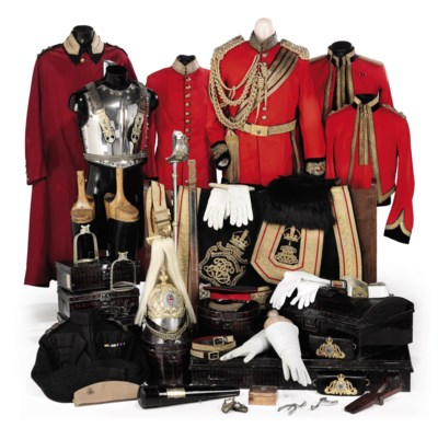 THE SWORD AND ITEMS OF UNIFORM