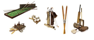 A COLLECTION OF SPORTING EQUIP