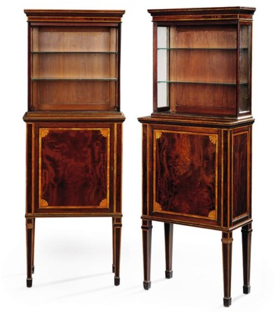 A PAIR OF LATE VICTORIAN INLAI