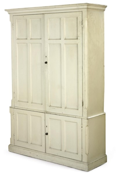 A VICTORIAN WHITE-PAINTED HOUS