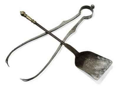 TWO CAST-IRON AND STEEL FIRE T