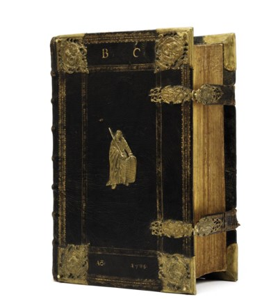 BIBLE, in German, Luther's ver