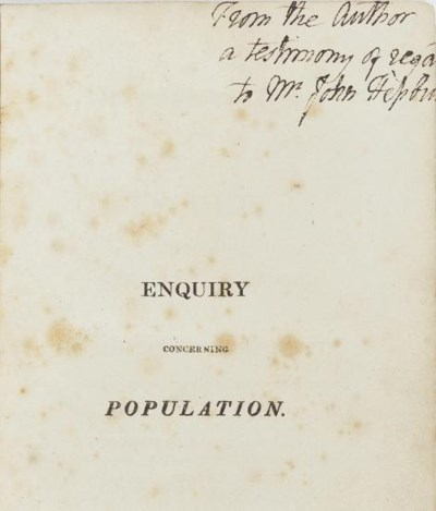 GODWIN, William (1756-1836). O