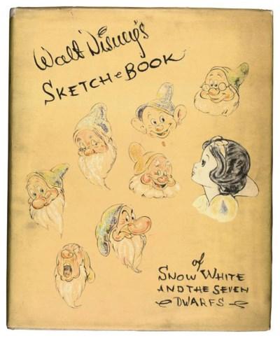 DISNEY STUDIOS, Walt -- 'Sketc