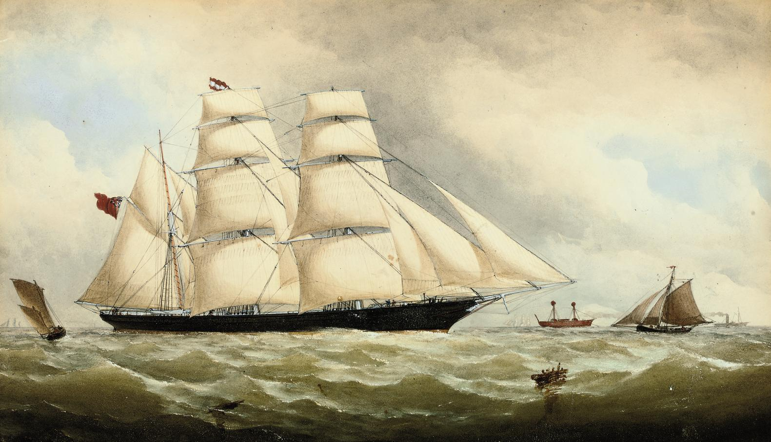 The English barque Spirit of the Age