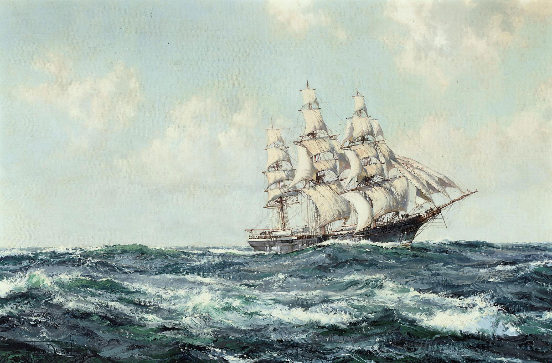 Montague Dawson, R.S.M.A., F.R