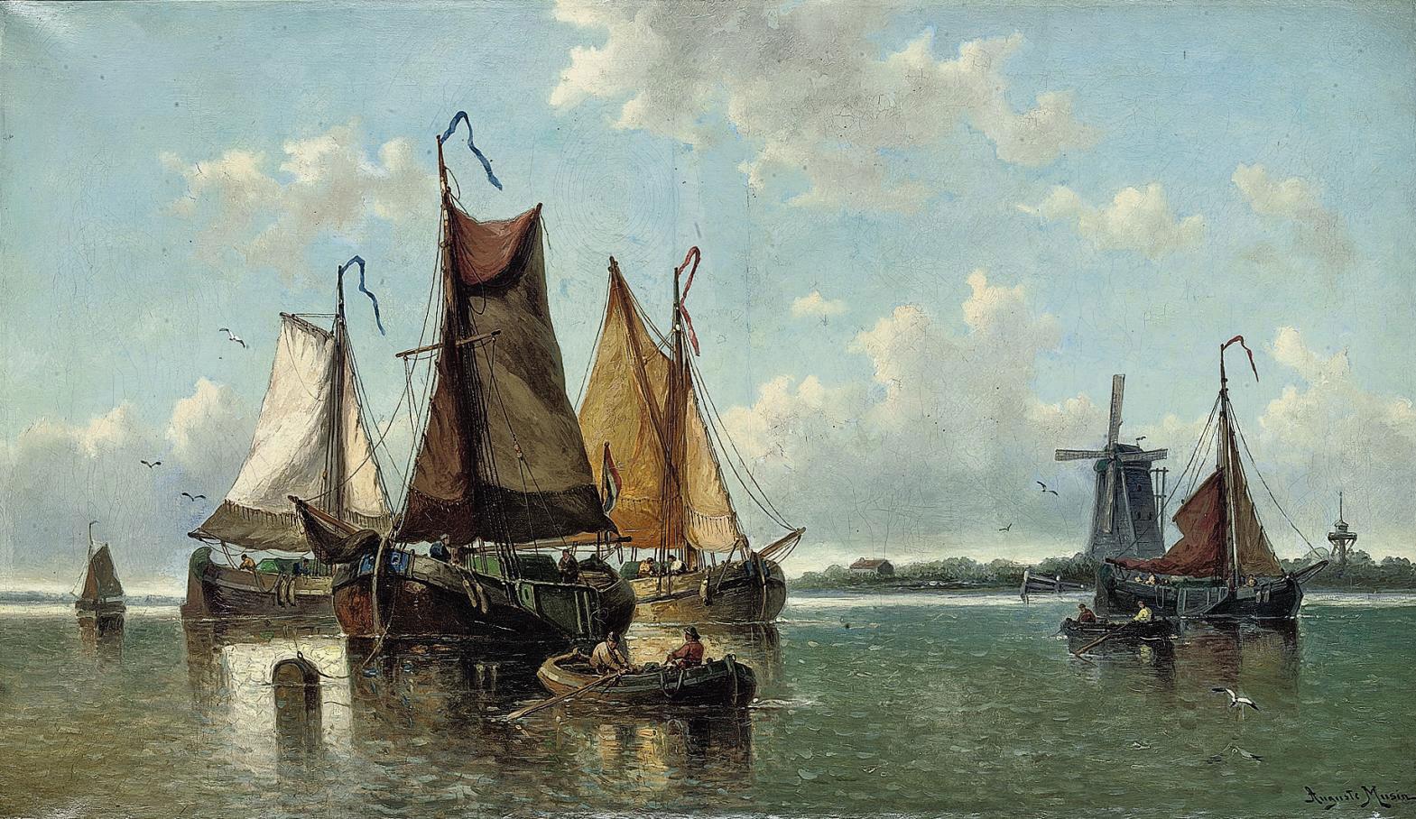 Auguste Henri Musin (Ostende 1