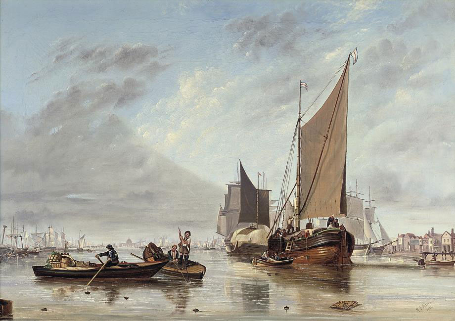 G.F. Allan, 1854