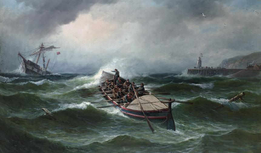John Harvey-Mayall, 1906
