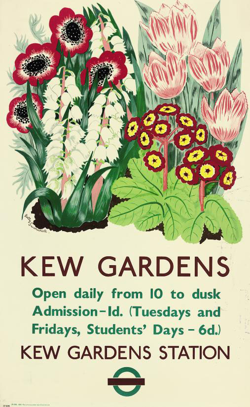 Kew Gardens Phone No: Betty Swanwick (1915-1989) , KEW GARDENS