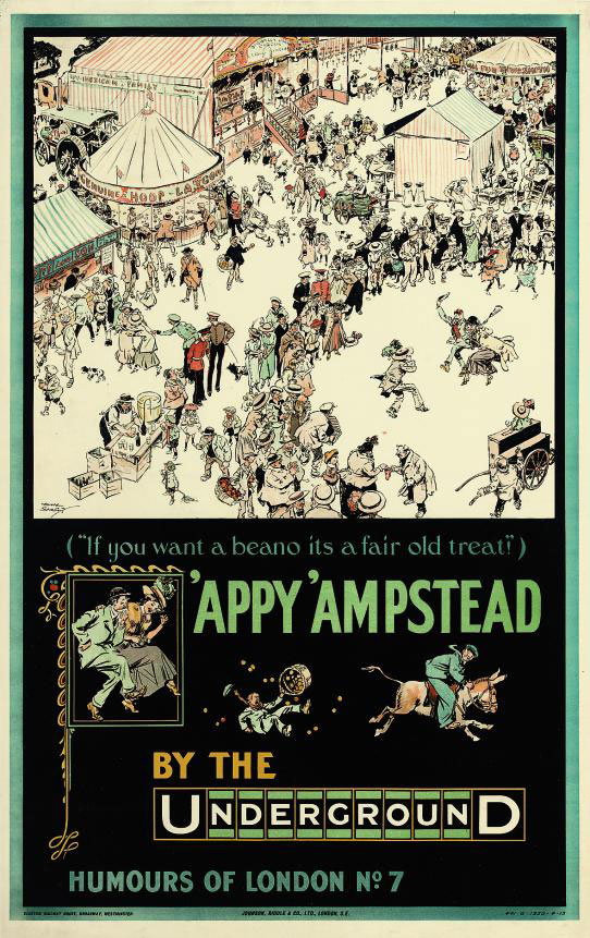 'APPY 'AMPSTEAD BY THE UNDERGROUND