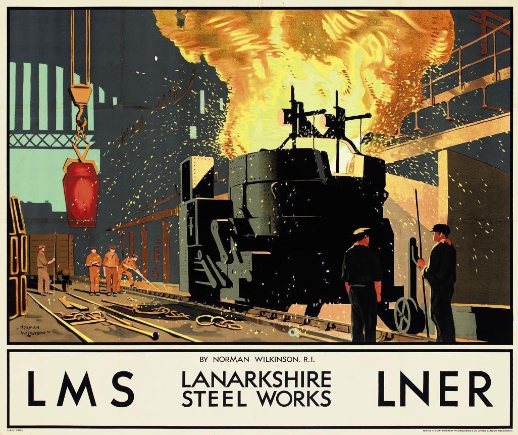 LANARKSHIRE STEEL WORKS