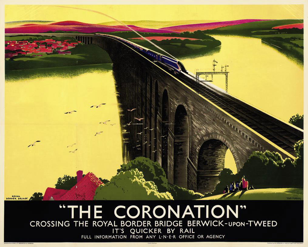 THE CORONATION, ROYAL BORDER BRIDGE