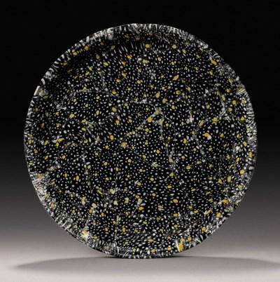 A ROMAN MOSAIC GLASS SHALLOW D