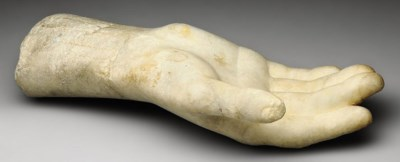 A ROMAN MARBLE RIGHT HAND