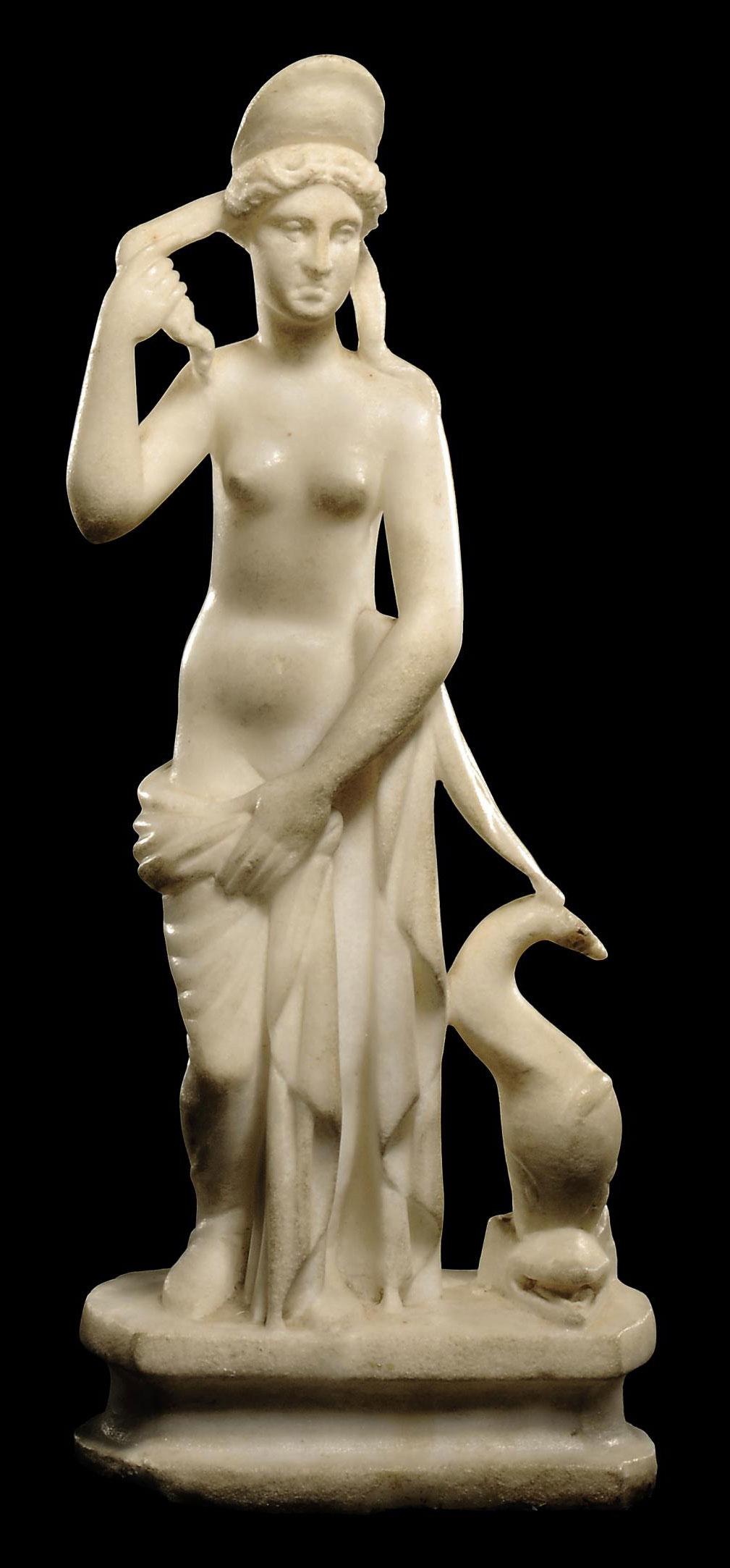 A ROMAN MARBLE APHRODITE ANADY
