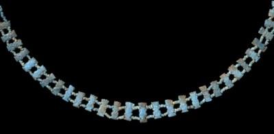 AN EGYPTIAN BLUE GLAZED COMPOS