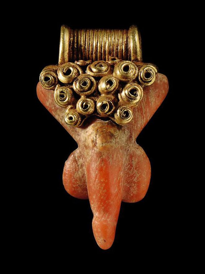 A GRAECO-ROMAN GOLD AND CORAL