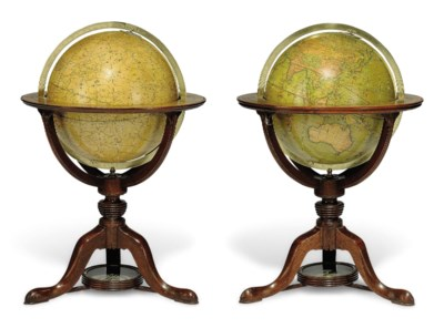 A PAIR OF GEORGE III 12-INCH G