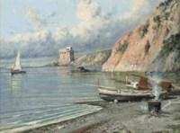 Cooking on the shore, the Amalfi coast