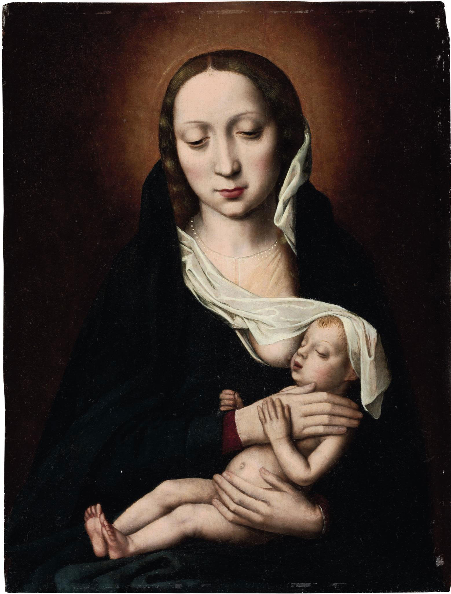 The Holy Virgin and Child