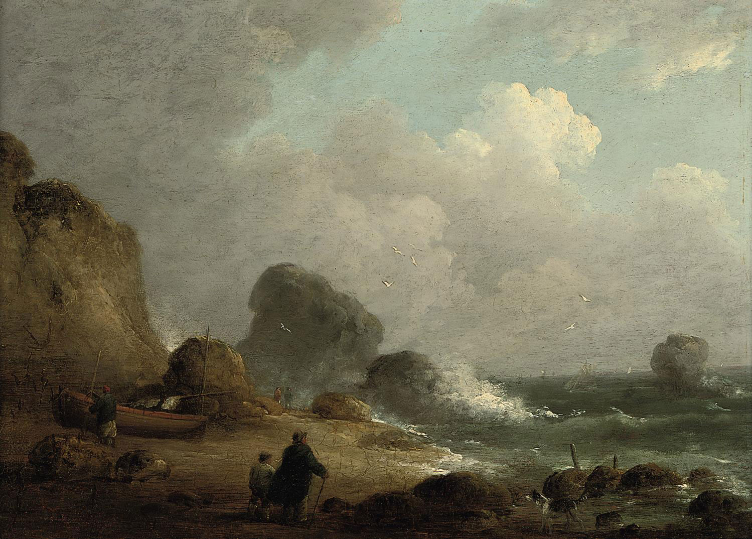 Attributed to George Morland,