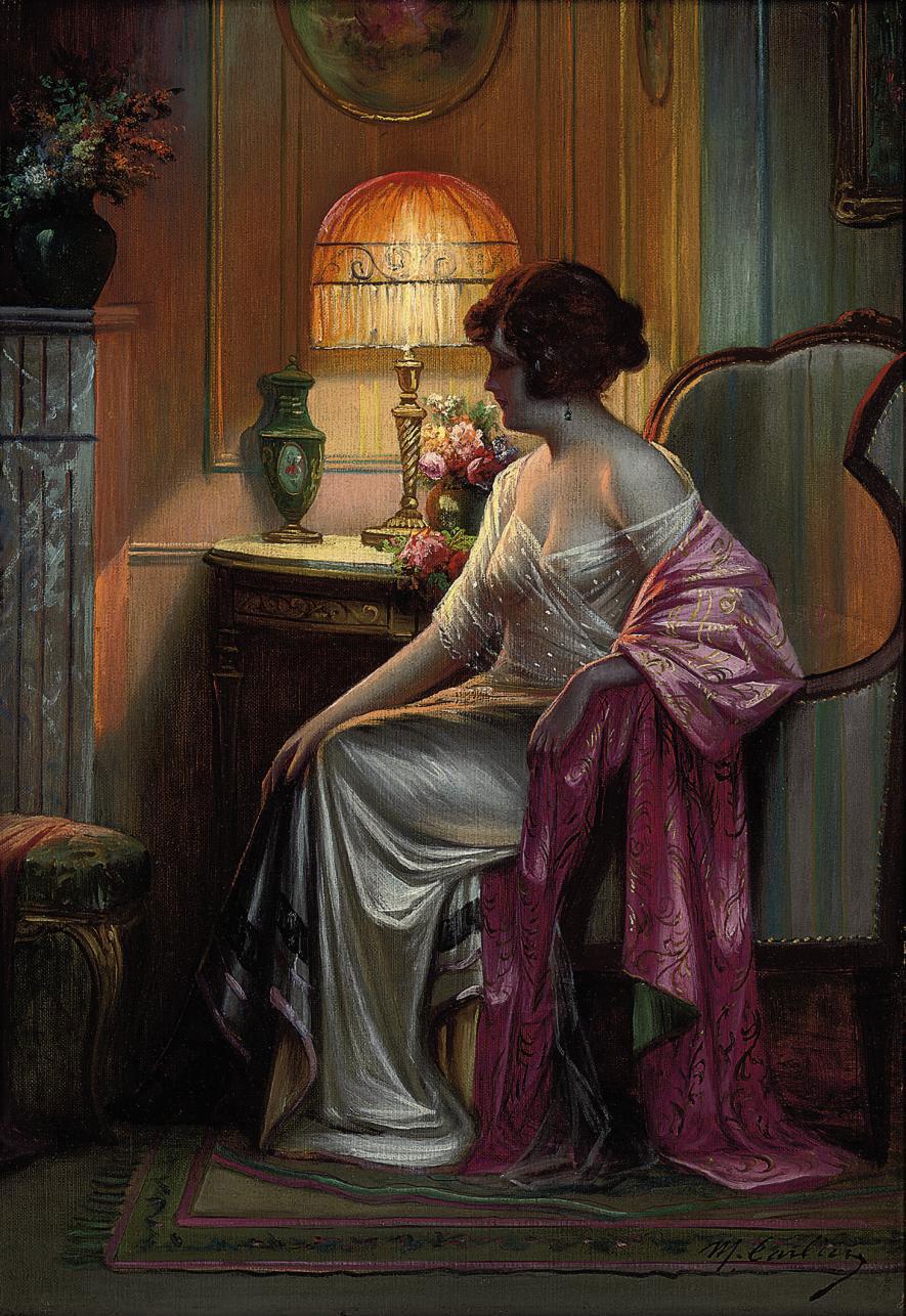 In the boudoir