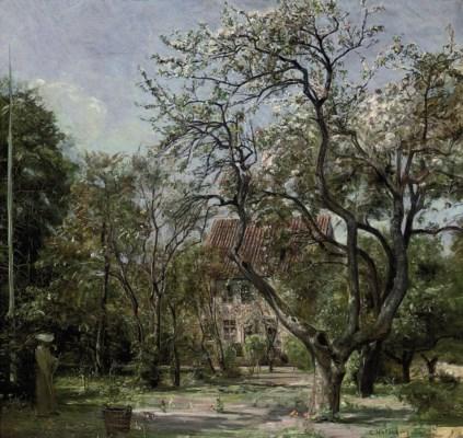 Carl Vilhelm Holsoe (Danish, 1