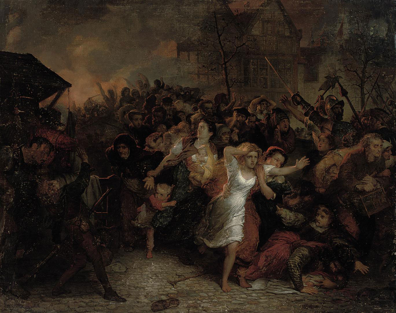 The siege of Antwerp