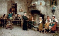 THE CURATE'S VISIT