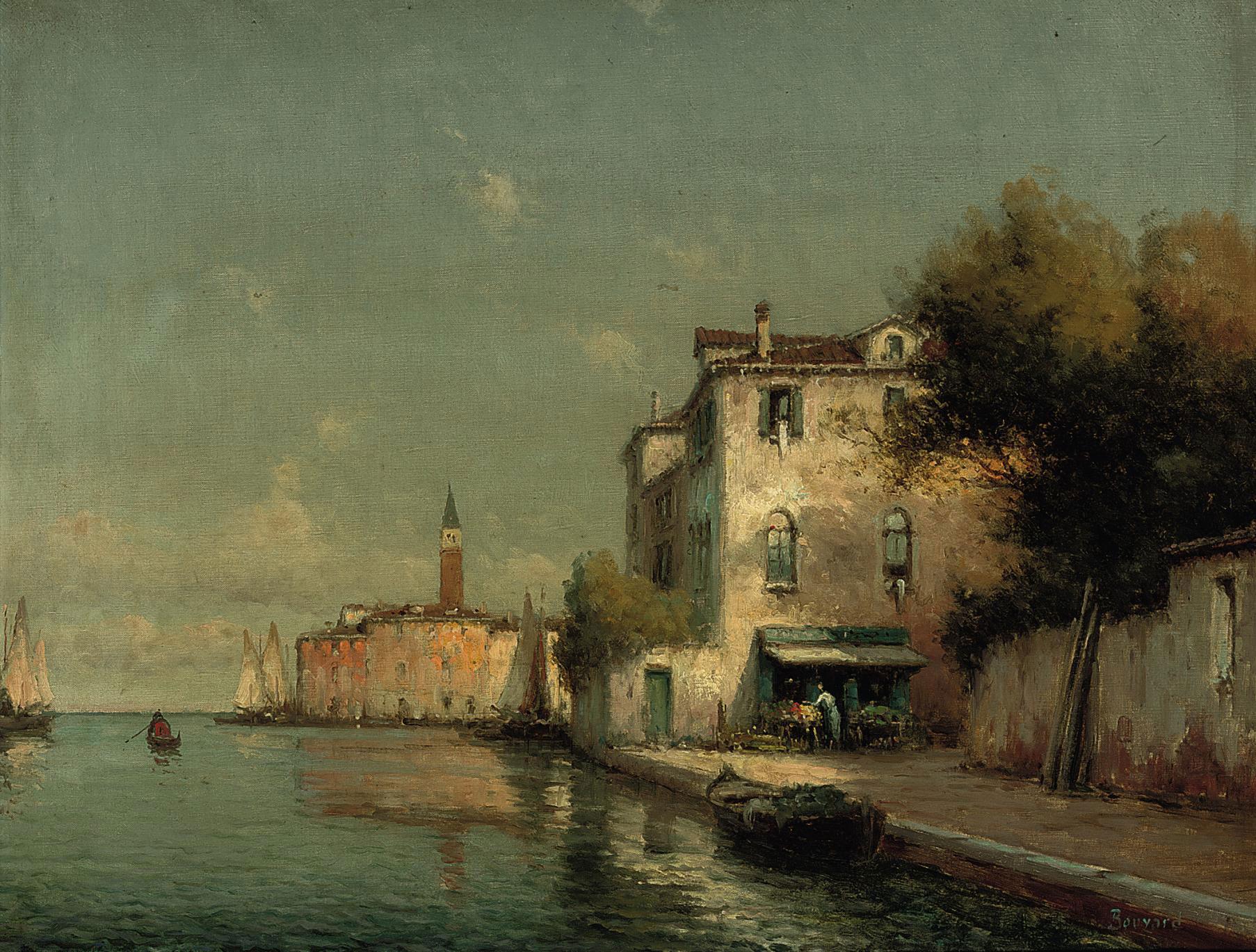 GEORGES NOEL BOUVARD (FRENCH,