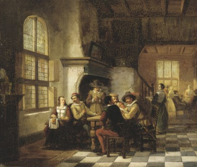 Henri Diddaert (BELGIAN, 1819-
