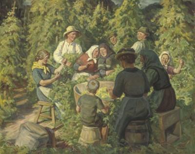 Rudolf Rud-Petersen (Danish, 1