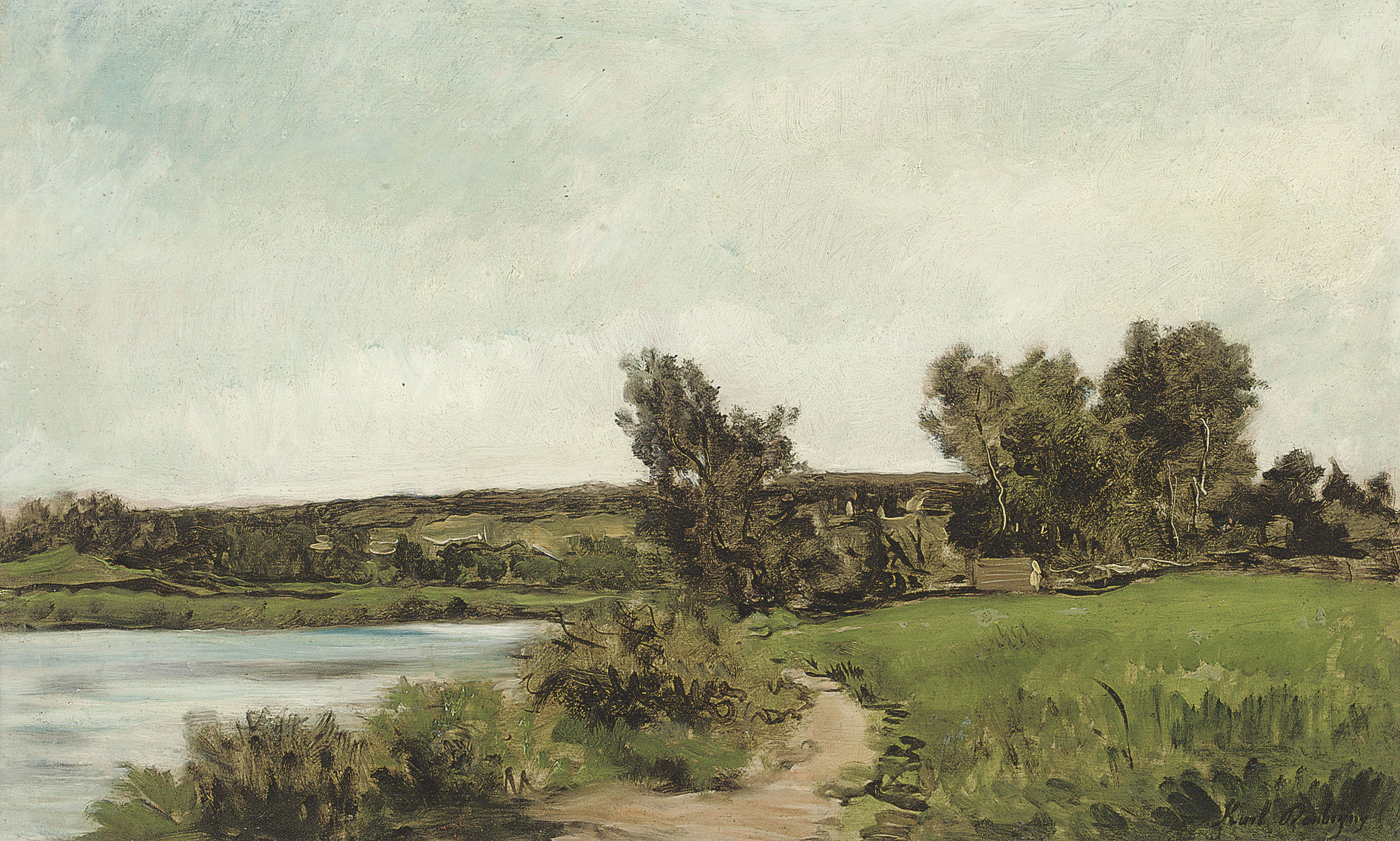 Karl Pierre Daubigny (French, 1846-1886)