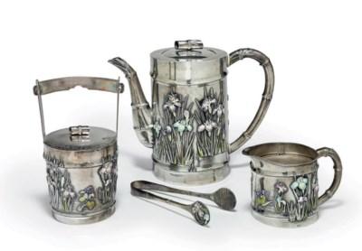 A Silver Teaset